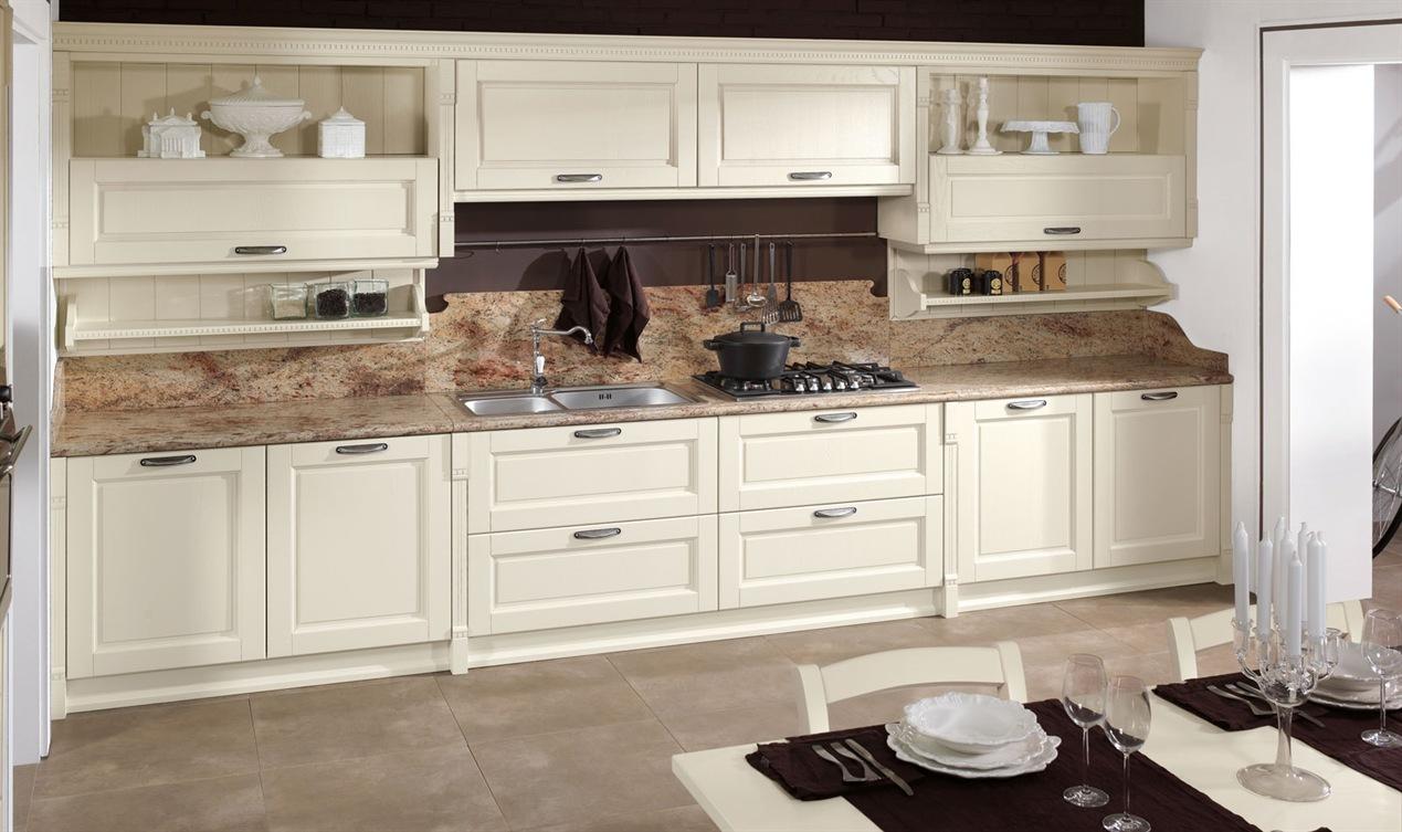 Cucina classica arredamenti cucina zona cottura - Cucina scavolini classica ...