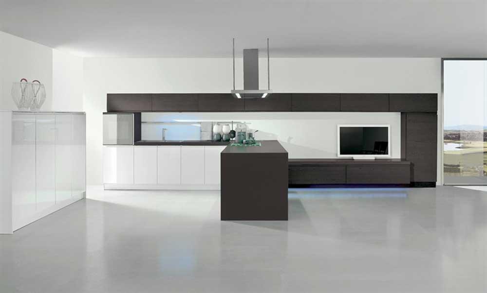 Cucina modernazona cottura with cucine a ferro di cavallo - Cucine a ferro di cavallo ...