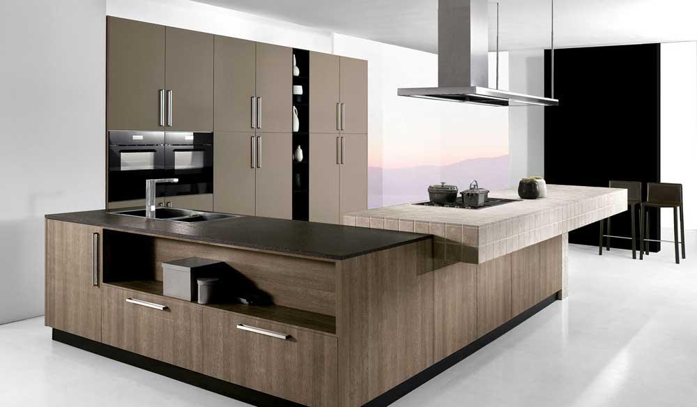 Cucina moderna arredo cucina zonacottura - Cucine a ferro di cavallo ...