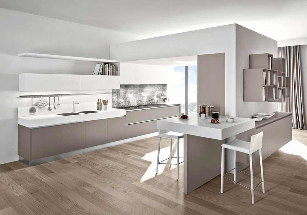 Cucina moderna arredo cucina zonacottura - Colori di cucine moderne ...