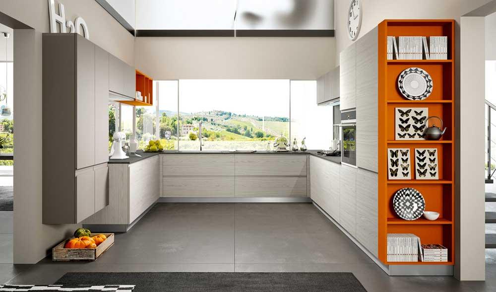 mosaico cucina moderna : ... Moderne Ferro Di Cavallo : Cucina moderna Arredo cucina Zonacottura